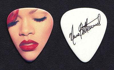 Rihanna Nuno Bettencourt Signature White Guitar Pick - 2011 Loud Tour Extreme