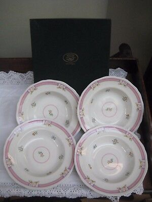 Boxed Laura Ashley 'Alice' Soup/Pudding Rimmed Bowls