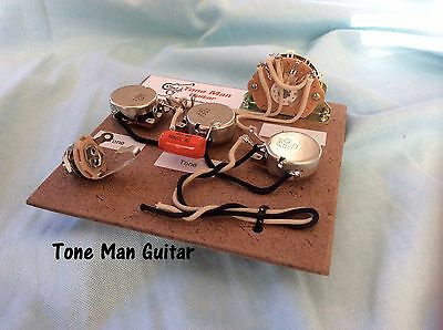 Tone Man Guitar Classic Prewired Wiring Harness Fits Fender Stratocaster
