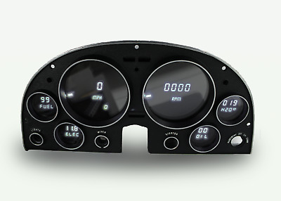 Corvette Digital Instrument Panel 1963-1967 Gauges Intellitronix WHITE