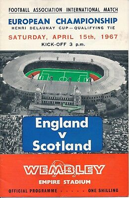 ENGLAND v Scotland (Home International @ Wembley) 1967