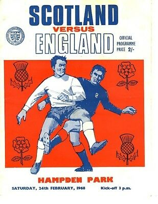 SCOTLAND v England (Home International) 1968
