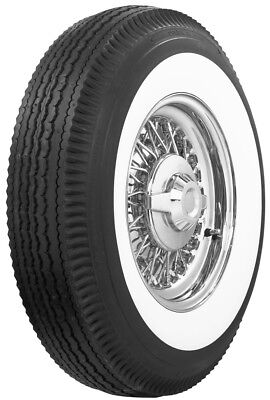 """760-15 Coker 3"""" Wide Whitewall Bias Tires *Set Of 4* Save!"""