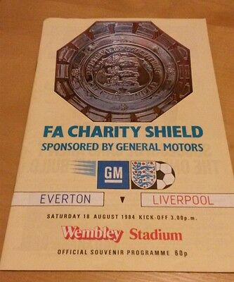 1984 Charity Shield - Everton vs Liverpool
