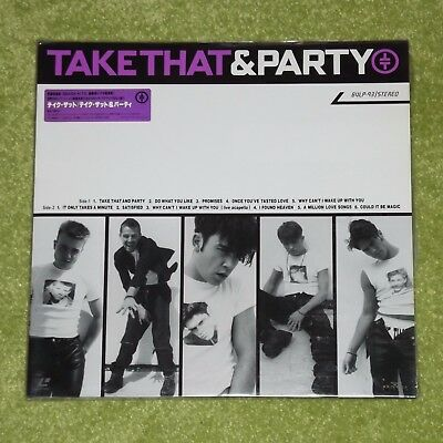 TAKE THAT And Party [Gary Barlow/Robbie Williams] - RARE 1993 JAPAN LASERDISC