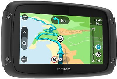"TomTom Rider 42 4.3"" UK, ROI and Western Europe Maps Car Sat Nav Bluetooth"