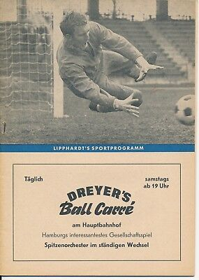 CUP WINNERS CUP SEMI FINAL 1968 Hamburg v Cardiff City - Lipphardt's edition