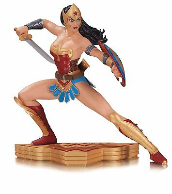 DC Comics Wonder Woman The Art of War Limited Edition Statue By Garcia Lopez