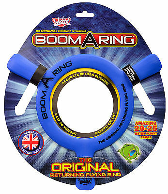 WICKED -  New - The Original Boom-A-Ring Returning Flying Ring 20/25 Metre Range