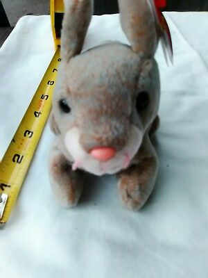 Ty Beanie Baby Nibbly the Rabbit 1998