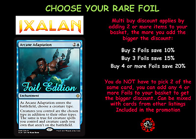MTG Ixalan XLN Choose your Rare FOIL - New - Buy 2 or more save 10%