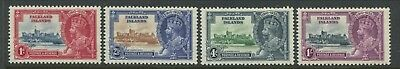 Falkland Islands KGV 1935 Silver Jubilee set of 4 mint o.g.and never hinged