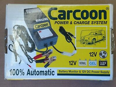 Carcoon Power and Charge System