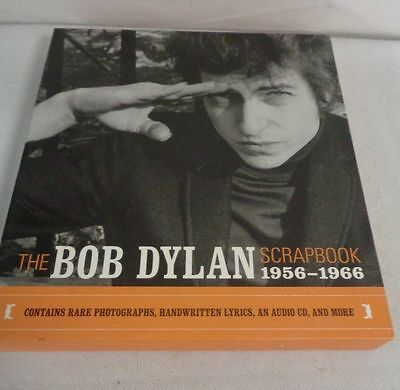 The Bob Dylan Scrapbook 1956-1966 - Hardback With Photographs And Audio Cd