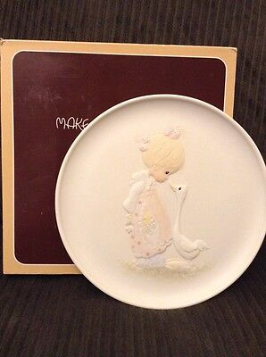 1981 Precious Moments Make A Joyful Noise E-7174 Collector Plate