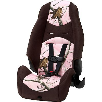 Cosco Highback 2-in-1 Booster Car Seat Realtree Ap Pink