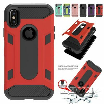 For iPhone Rubber+Hard PC military heavy duty shockproof phone caes rugged