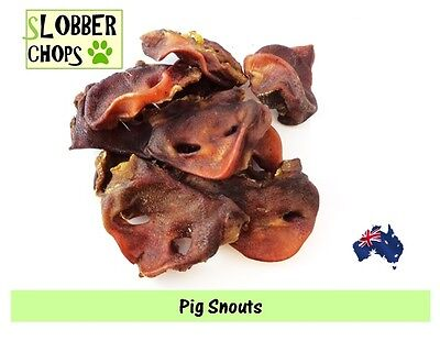Pig Snouts, Pork snout 1kg. Dog treat (SPECIAL PRICE, LIMITED TIME ONLY)