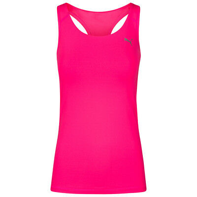 PUMA Essential RB Damen Fitness Tank Top Training Jogging Rosa 513958 S M L XL