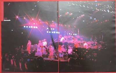 GENESIS PHIL COLLINS Tony Banks 1982 CLIPPING JAPAN MAGAZINE WP T15 2PAGE