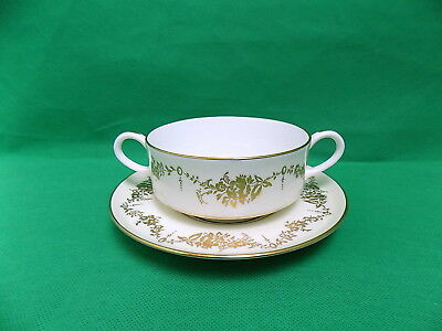 Aynsley Highfield Soup Cups & Saucers x 6