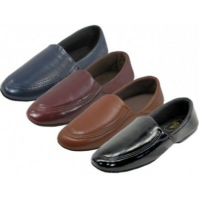 NEW Men's House Slippers Close Back Classic Comfort Soft Padded Indoor Shoes