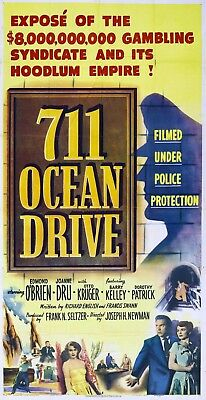 8 X 10 Reproduction Movie Poster Photo Of 711 Ocean Drive