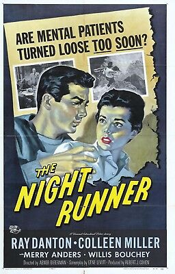 8 X 10 Reproduction Movie Poster Photo Of The Night Runner