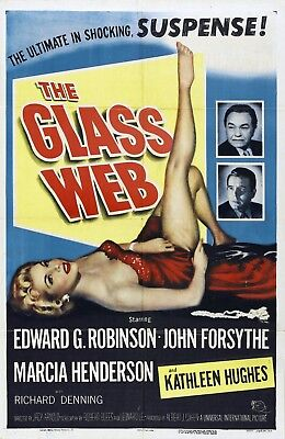 8 X 10 Reproduction Movie Poster Photo Of The Glass Web