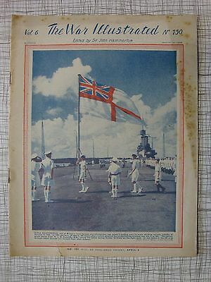 The War Illustrated # 250 Green Howards, Violette Szabo, HMAS Sydney, Tunisia
