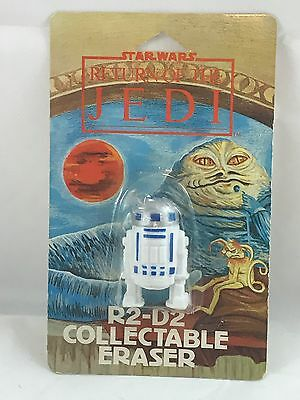 STAR WARS RETURN OF THE JEDI ERASER R2-D2 NEW UNOPENED Package Collectible Rare!