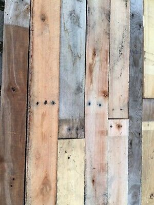 Reclaimed Pallet Wood Cladding 1 Meter Square