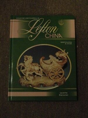 1995 Book ENCYCLOPEDIA of LEFTON CHINA, ID & VALUES; Porcelains from JAPAN