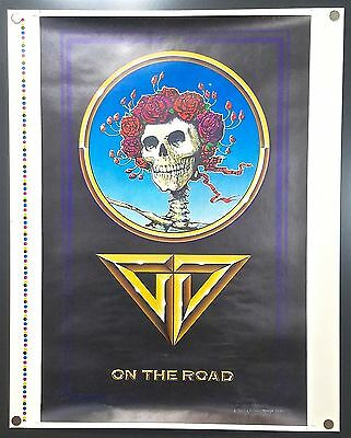 Grateful Dead On the Road (1978) – Original Printer's Proof Concert Tour Poster