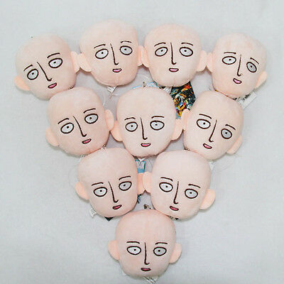 one punch man plush doll cute ornament keychain toy new wholesales 10pcs a lot