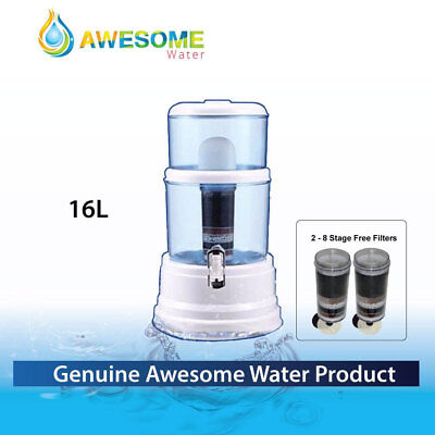 NEW AWESOME WATER Purifier Ceramic Charcoal