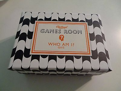 Ridley's WHO AM I? CELEBRITY Quiz Game from POPSUGAR MUST HAVE BOX June 2016