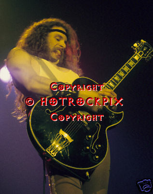 Archival Quality Photo Of Ted Nugent In Concert 1977