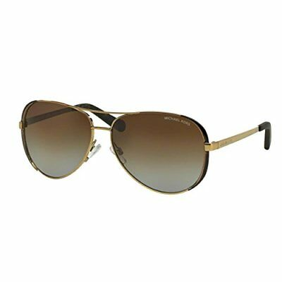 Michael Kors MK5004 Chelsea Sunglasses Gold/Brown