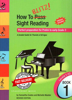 How To Blitz! Sight Reading Book 1 (Preliminary - Grade 3) - Samantha Coates