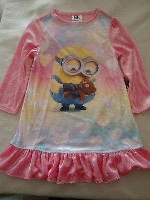 """Despicable Me """"minions"""" Nightie Nwts Size 3"""