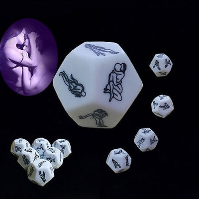 Hot Sex Funny Adult Sexy Dice Game Love Humour Gambling Romance Erotic Craps Toy