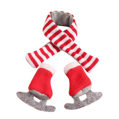 Christmas Elf Claus Couture scarf and Boots Kids Gift toy on the shelf