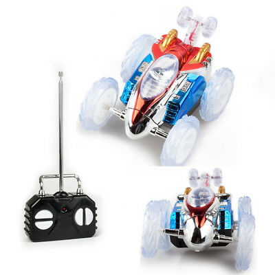 Turbo 360 Twister RC Stunt Car Flashing Light Dasher Vehicle Toy Remote Control
