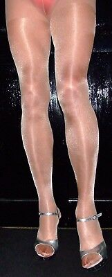 Rose Gold 40 Denier High QualityOne Size Fabulous Shimmer Effect Tights