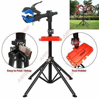 Pro Bicycle Bike Adjustable Folding Repair Mechanic Maintenance Work Stand Rack