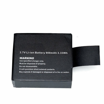 3.7V 900mAh 3.33Wh Li-ion Battery Car Sports Camera SJ6000 SJ4000 SJ7000 M10