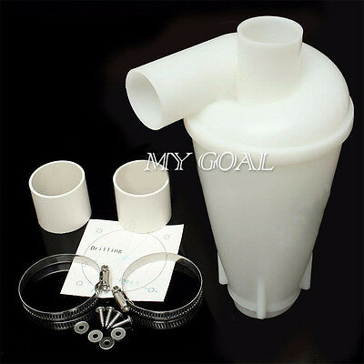 Turbo-Charging Cyclone Dust Separator Collector Vacuums Cleaners Filter Tool Hot