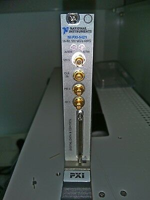 National Instruments NI PXI-5421,32MB, 16-Bit 100MS/s AWG