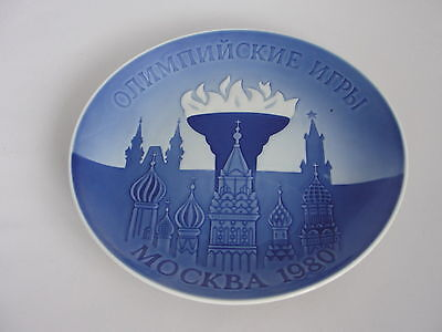 Copenhagen porcelain   Olympic Games MOscow 1980